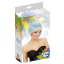 wholesale Garden & DIY store:  blue-turquoise  melange fashion wig  in color box