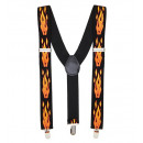 flames braces , Hat size: 0 - for adults / unise