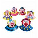 grossiste Jouets: chapeaux de clown ensemble de 6 - pour les enfan