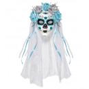 grossiste Jouets:  Dia de los  muertos masque  decoratedwith ...