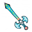 inflatable death sword 80 cm - for adults / uni