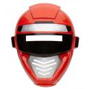 Máscara robot de alimentación rojo  del tamaño de