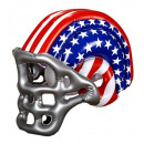 wholesale Sports and Fitness Equipment:  inflatable stars  & stripes american football helm