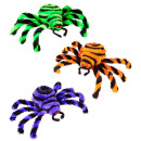 wholesale Garden & DIY store:  12 spiders  15 cm  - in display box - 3 colors ass
