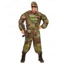 wholesale Costume Fashion:  super muscle  soldier  (muscle shirt, pants, headb