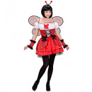 wholesale Children's and baby clothing: ladybug (dress, cuffs, wings, antennas), Size: (