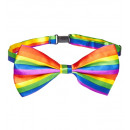 rainbow bow tie   - for adults / unisex