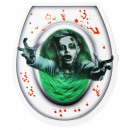 wholesale Bath Furniture & Accessories: bloody zombie toilet cover , Hat size: 0