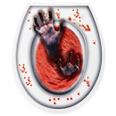 wholesale Bath Furniture & Accessories: bloody zombie hands toilet cover , Hat size: 0
