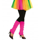Paar  neon pink  legwarmers  - für Frauen