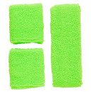 wholesale Drugstore & Beauty:  neon green  sweatband set   (headband, 2 ...