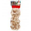 wholesale Sports and Fitness Equipment:  red sweatband  with blond curly hair  -  for adult