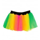 multicolor neon tutu  -  for women