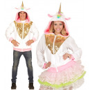 Licorne fantasy  (hoodie), Taille: (S / M) - pour