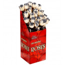 grossiste Jardin et bricolage: Display la boîte  de «24 roses pourris  52 cm
