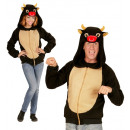 wholesale Toys: bull (hooded fleece jacket), Size: (S/M), Hat si