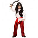 ingrosso Ingrosso Abbigliamento & Accessori:  Pirata ragazzo   (camicia con gilet, pantaloni, ci