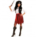 wholesale Toys: pirate (dress with vest, belt, headpiece), Size: