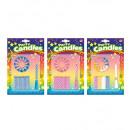 Kaarsen & houders + 1 musical candle set van