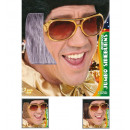 wholesale Toys: jumbo sideburns adhesive - 3 colors assorted: gr