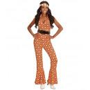 wholesale Dresses: 70s lady jumpsuit rhombus, Size: (L) - for ...