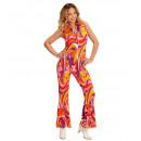 wholesale Dresses: 70s lady jumpsuit orchid, Size: (M) - for ...