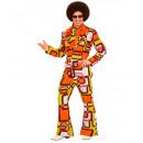 70s man suit tubes (jacket, pants), Size: (M), H