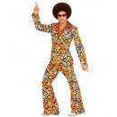 70s man suit bubbles (jacket, pants), Size: (XL)