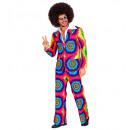 Großhandel Spielwaren: The 70s Groovy Style (Jacke, Hose), Größe: (L),