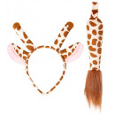 Giraffe (Ohren, Schwanz), Hutgröße: 0 - für Frau