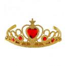 ingrosso Giocattoli: diadema in oro con gemme rosse , misura del cappe