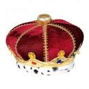 Großhandel Spielwaren: Königskrone mit Edelsteinen , Hutgröße: 0 - für H