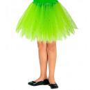 hurtownia Pozostałe: tutu zielona musująca 30 cm - dla dziewczynki