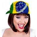 groothandel Speelgoed:  Brazil bandana   55x55 cm - voor volwassenen / uni