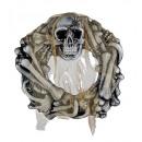 groothandel Stationery & Gifts: schedel & botten krans met spin en spookachti