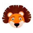 groothandel Licentie artikelen: vilten leeuwenmuts , hoed maat: 53 - ...