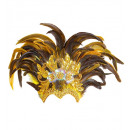 inca show feather headdress, Hat size: 0 - for wo