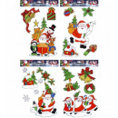 juegos de surtido christmas windowstickers with sa