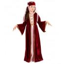 Großhandel Spielwaren: Mittelalterliche Königin (Kleid, Krone mit Schle