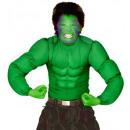 Shirt super  muscolare verde , formato: (140 cm /