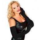 wholesale Gloves:  long black  elastane gloves  60 cm- suitable also