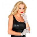 Großhandel Handschuhe:  Silbernen -Pailletten  Handschuh , Größe: ...