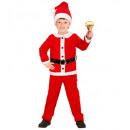 santa claus flannel (jacket, pants, belt, hat),
