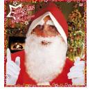 santa claus maxi beard with moustache and eyebrow
