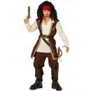 mayorista Juguetes:  Pirata  (capa con  camisa, pantalón, cinturón, ban