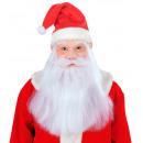wholesale Toys:  santa claus mask  with hat, wig, beard & moustache