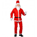 santa claus   (jacket, pants, belt, hat, beard wit