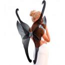 mayorista Juguetes:  maxi alas brillo  negro  - 99x110cm para adultos