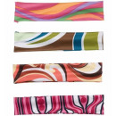 70s headband  4  colors assorted - for women