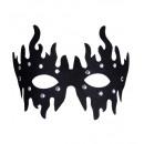 eyemasks chiodati nere - per adulti / unisex